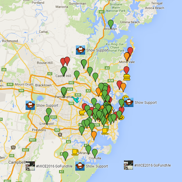 Sydney Coffee Map