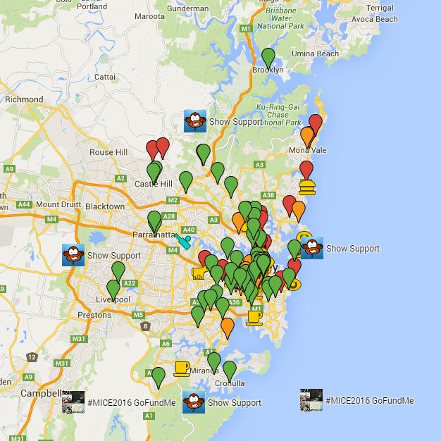 Sydney Coffee Map