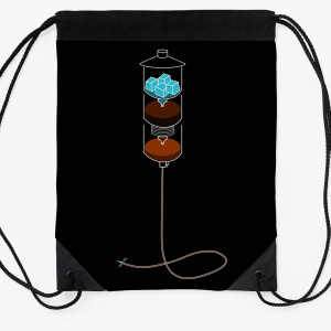 Cold Drip IV Drawstring Bag
